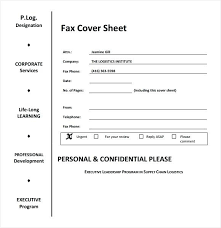 Free Fax Cover Free Fax Cover Sheet Template Word Doc Printable Funny In