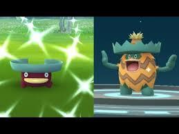 We Caught Shiny Lotad Pokemon Go Shiny Lotad Evolves Into Shiny Ludicolo