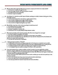 sicko worksheets movie guide and debate essay project topics by  sicko worksheets movie guide and debate essay project topics