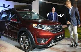 new car launches hondaHonda Cars launches BRV  Business Line