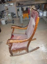 custom made antique oak rocking chair by jp design build repair identification 1