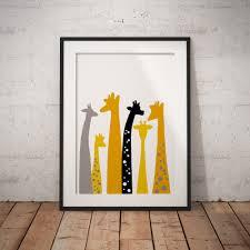 giraffe print giraffe gift giraffe decor giraffe lover giraffe art giraffe