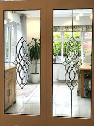 pictures of french patio doors beveled glass internal white primed exterior