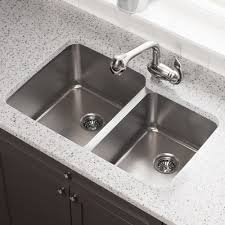 513 Offset Double Bowl Stainless Steel Kitchen Sink Wide Left Mr