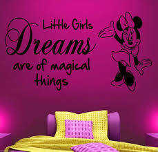 Minnie Mouse Stuff For Bedroom Popular Minnie Mouse Wall Sticker Buy Cheap Minnie Mouse Wall