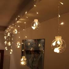 10M Festoon String Light Outdoor <b>Battery Box</b> Waterproof <b>LED Ball</b> ...