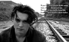 Johnny Depp Love Quotes New Johnny Depp Quotes Second Love Dating Quotes From Johnny Depp