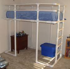 Twin Size Loft Bed Made From PVC Water Pipe: 3 Steps