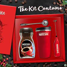 So until the coffee capsules arrive, i'm sol. Nescafe The Ultimate Coffee Kit Nescafe Classic Jar With Travel Mug And Coffee Foamer Jar 100 G Amazon In Grocery Gourmet Foods