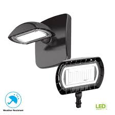 Commercial Electric 15 Watt Integrated Led Flood Light And