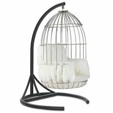bird cage swinging chair