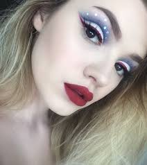 the best 4th of july makeup look ever