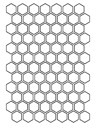 1 inch hexagon pattern. Use the printable outline for crafts ... & 1 inch hexagon pattern. Use the printable outline for crafts, creating  stencils, scrapbooking Adamdwight.com