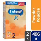 Enfamil A+ 2 Baby Formula, Powder Refill