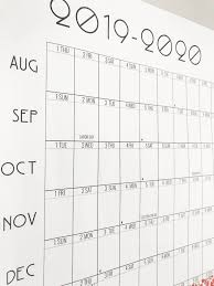Printable School Year Calendars A Blank Printable Calendar For The Fam Just In Time For