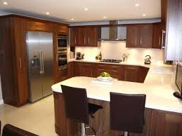 u shaped kitchen layout dimensions small l island designs with range sink cookies