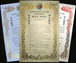 Martial Arts Certificate Templates Buy Obtain Get Modify Purchase Custom Certificates Online