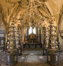 the spine tingling sedlec ossuary is estimated to hold the remains of between 40 000 and