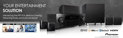 pioneer 5 1 speakers. htp-074 5.1-channel home theater package pioneer 5 1 speakers
