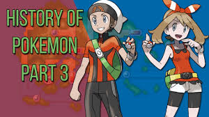 History of Pokemon part 3: To Generation 3! - YouTube