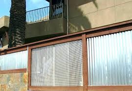 corrugated metal shower wonderful galvanized siding fence panels me steel sheet