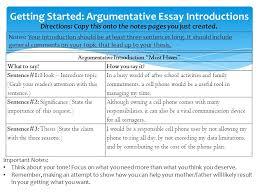 essays structure phrases argumentative