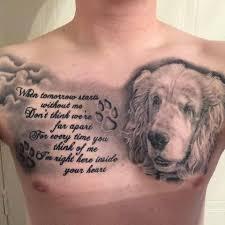владельцы собак делают татуировки с мордами своих любимцев Eznews