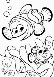 Finding Nemo Characters Coloring Pages Gianfreda For Finding Nemo