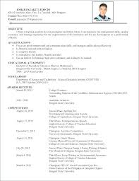 Resume Interest Examples Example Good Hobbies For Resume Resume