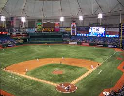 Seating Chart For Tropicana Field St Petersburg Tropicana Field St Petersburg Florida Sports Stadiums I