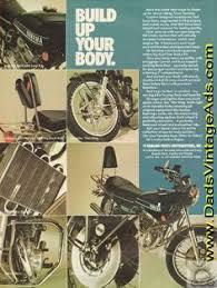 1975 vintage ad yamaha custom designed motorcycle parts