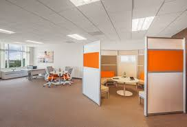 orange office furniture. an auto finance firm updates their office to bright and modern orange furniture