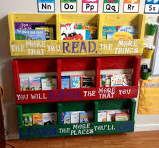 Pallet book shelf. Display book shelves we made from one pallet, with Dr.