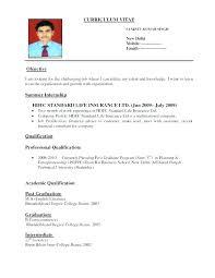 Standard Format Resume Cool Standard Format Of Resume Star Format Resume Great Pattern Of Resume
