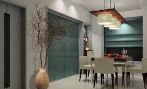 linear chandelier dining room. Modern Linear Chandelier Dining Room