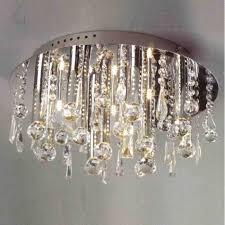 brizzo lighting s 14 miraggio modern crystal flush mount in extraordinary flush mount crystal chandelier