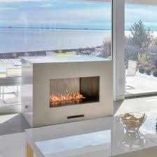 fire ribbon vent free single vu spark modern fires rh sparkfires com modern ventless propane fireplace