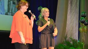 photos from the zonta club mount isa women of achievement awards speaking sue wicks and stacey currie