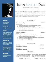 Different Resume Formats Interesting Different Resume Templates Viawebco