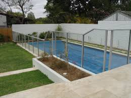 your views of you pool there is a variety of posts shapes to choose from with glazing either into the post or to glass clamps if that is preferred