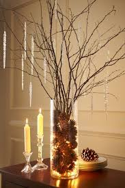 Natural Holiday Decor Idea: Beautiful Birch Branches | Reception, Christmas  centrepieces and Change