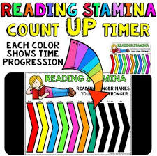 Minute Timers Timer For Reading Stamina Count Up 5 10 20 And 30 Minute Timers