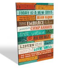 amazon the barn today is a new day marla rae wood wall art panel 12 x 18 inch wall art on wooden wall art inspirational quotes with amazon the barn today is a new day marla rae wood wall art