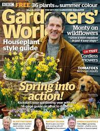 bbc gardeners world magazine march