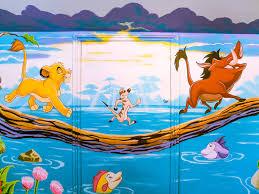 Lion King Bedroom Decorations Lion King Mural Sacredart Murals