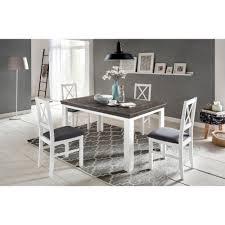 Lavente Tischgruppe 5 Teilig Esstisch 140x90 Ausziehbar 4 Stühle