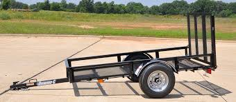 diamond c lsa single axle utility trailer