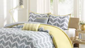 bedding set:Blue And Grey Bedding Sets Modern Bedroom Yellow And White And  Blue Awesome