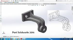 Engineering Design With Solidworks 2016 Tutorial 01 For Solidworks 2016