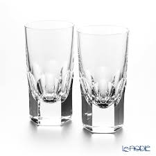 la maison madeleine double shot glass 90 ml pair father s day taking a swig at a bottle gift tableware fashion brand